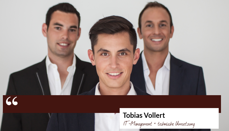Zitat Tobias Vollert - IT-Management und technische Umsetzung