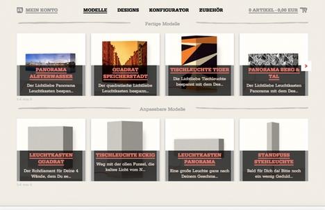 Screenshot eines mobilen Projektes