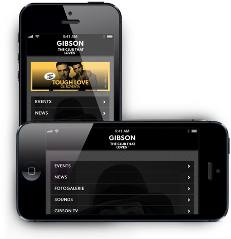 Gibson Club App